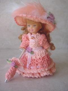 KELLY DOLL CLOTHES CROCHET PATTERN | FREE PATTERNS