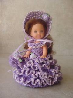 Crochet Stitches Lp : KELLY DOLL CLOTHES CROCHET PATTERN CROCHET