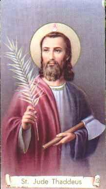 San Judas Tadeo - Historia