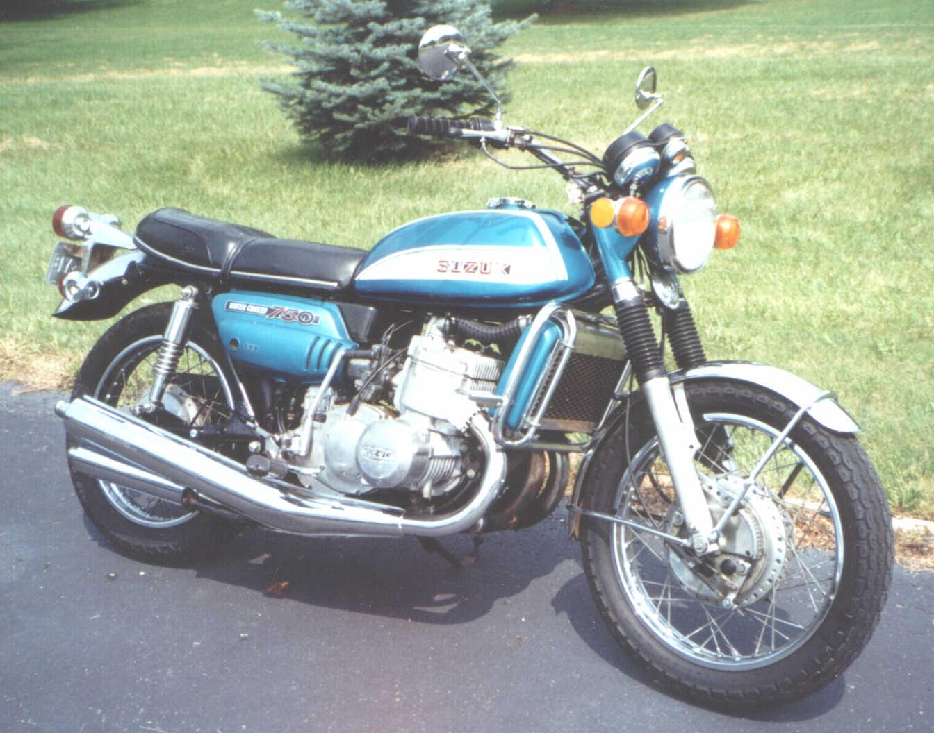 Vintage Suzuki Motorcycle 8