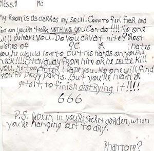 More Pics Of M Mc S Stalker S Letters