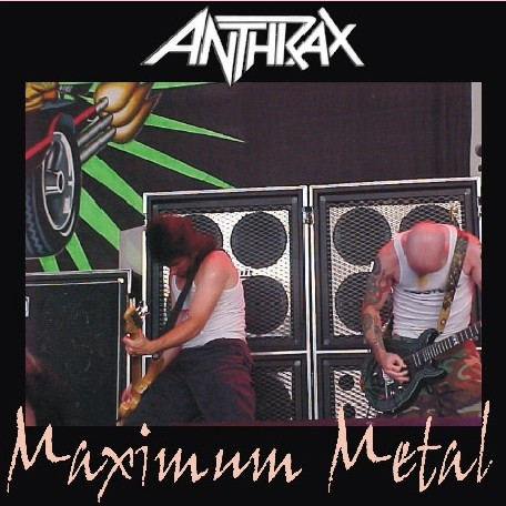 Danny Pav S Page Bootlegs Anthrax