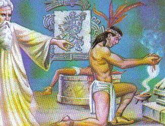 grupo formado por chichimecas y descendientes de los teotihuacanos los