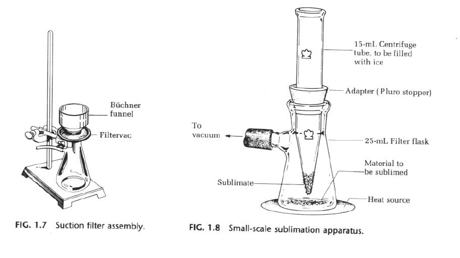 organic chemistry sublimation Sublimation sublimation is conceptually similar to distillation it is a method in which an impure sample is heated and a purer sample collects someplace cooler nearby.