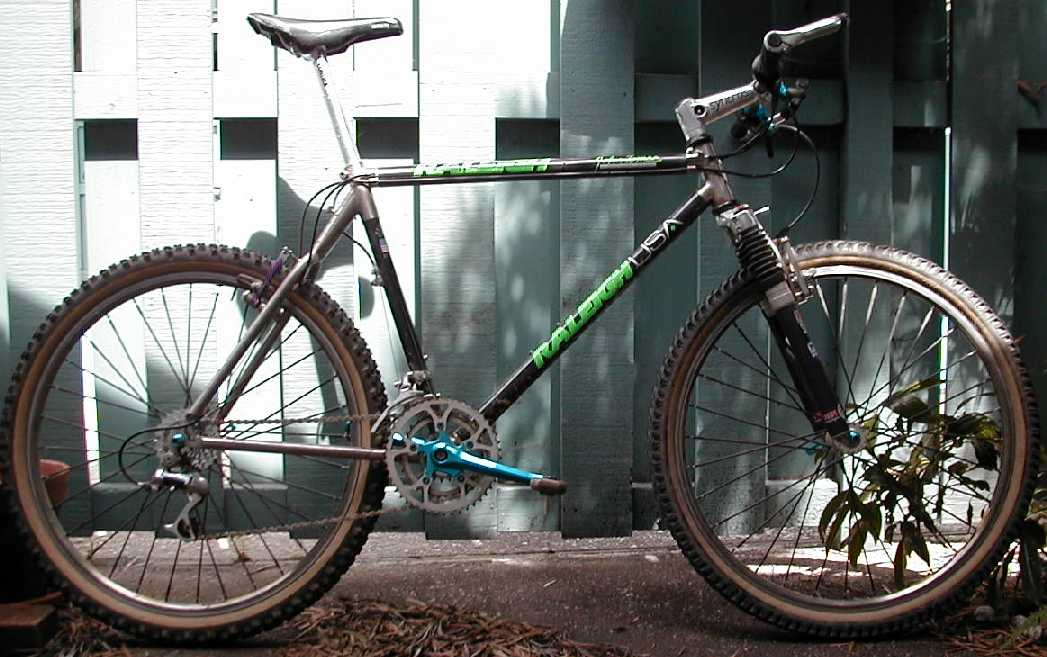 Raleigh John Tomac Signature Model By Merlin