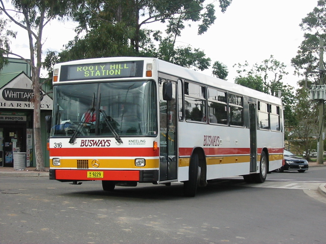 Busways 61 Years Of Service In 2003