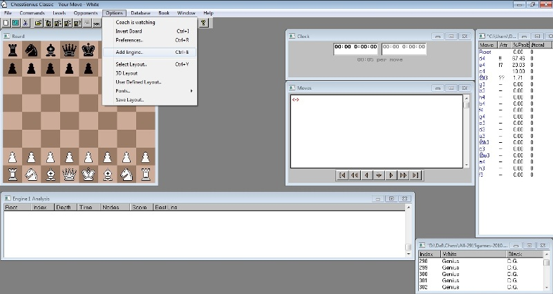 ChessGenius for Desktop PC's - Adding chess engines in the