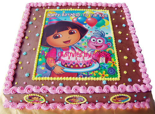 BIRTHDAY CAKES CHILDREN