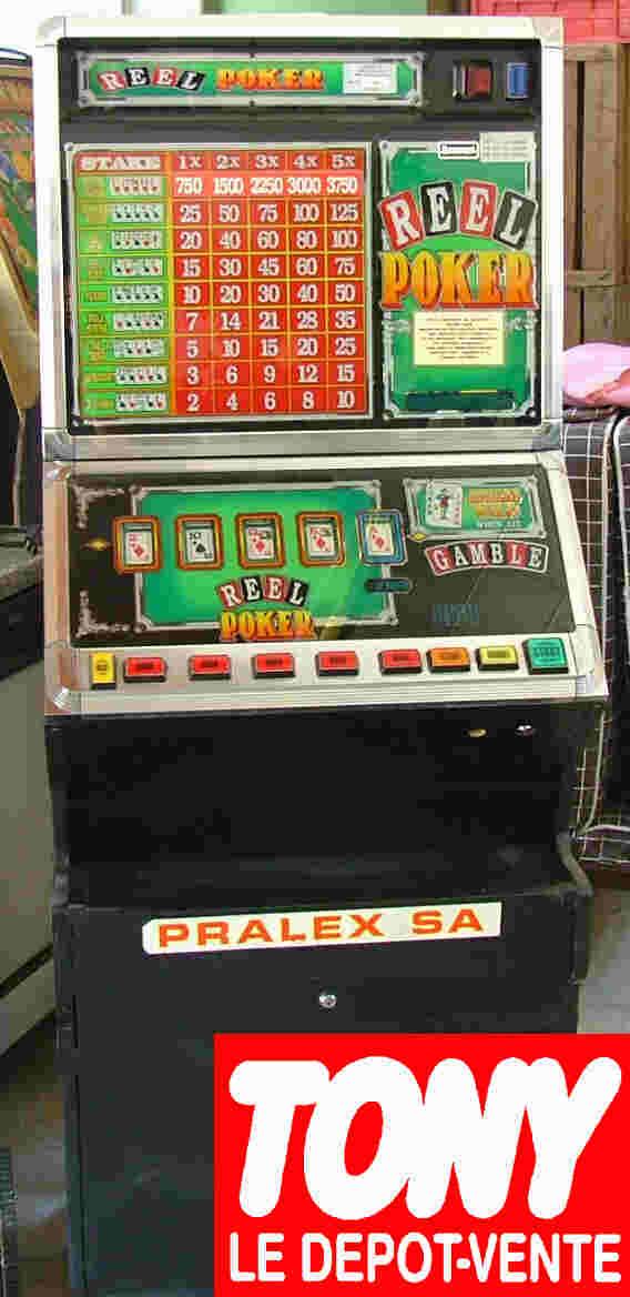 machine a sous a vendre