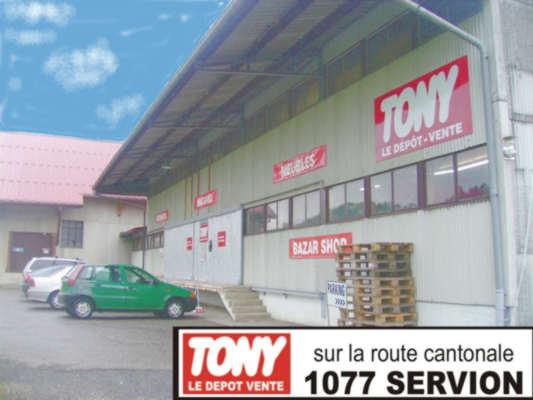 Tony le depot vente servion et en suisse romande for Liquidation meuble hotel
