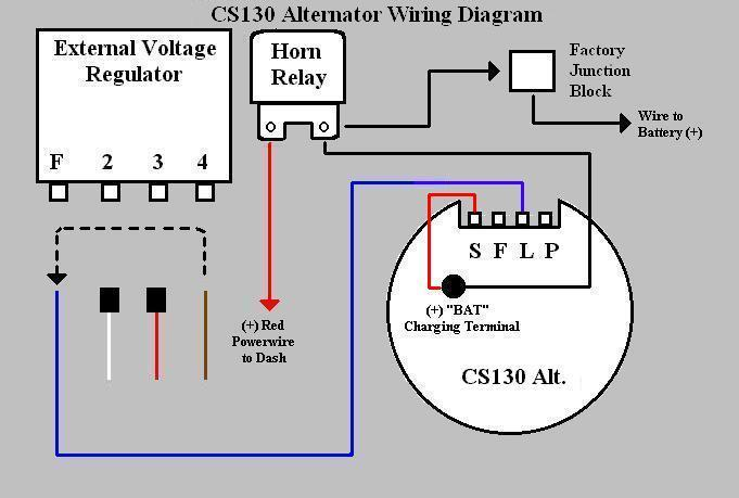 1 Wire Gm Alternator Wiring Diagram from www.geocities.ws