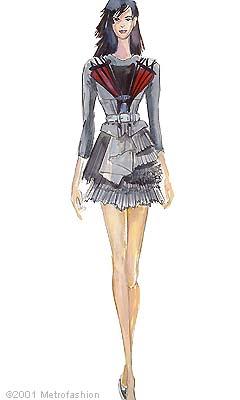 fashion sketches 2002