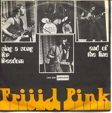 Frijid Pink - Heartbreak Hotel