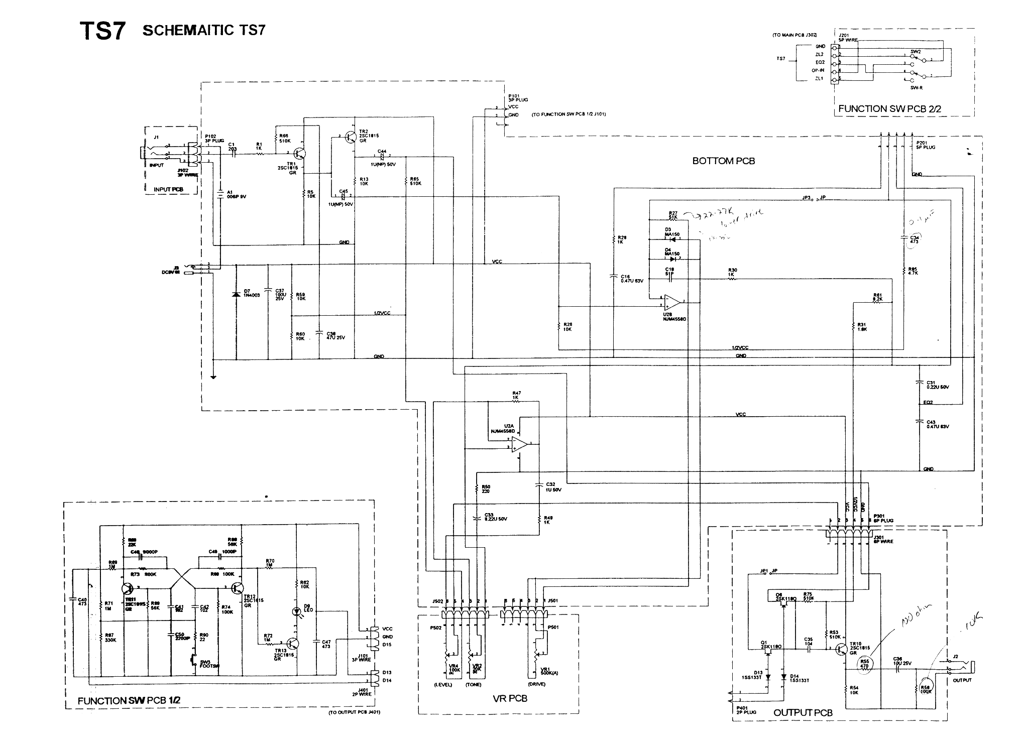 Tube Screamer Schematic on
