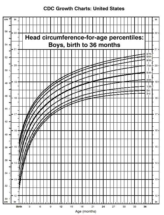 Boys Growth Chart