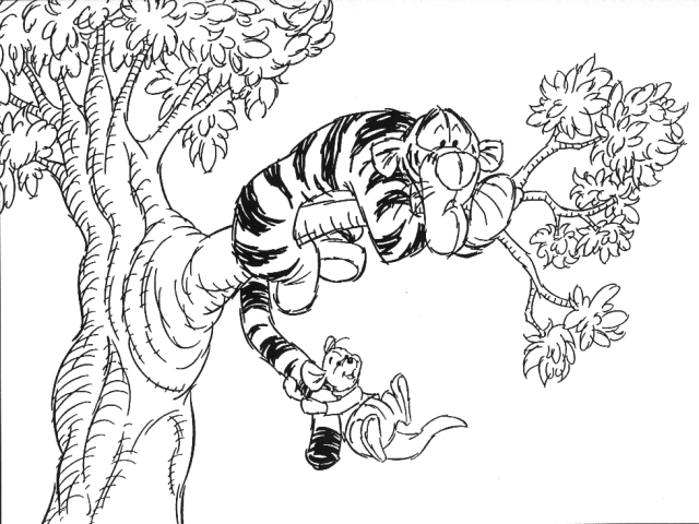 tigger and roo coloring pages wwwpixsharkcom images