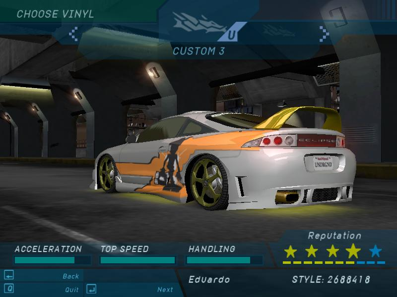 Need For Speed Underground 2 Rutorg