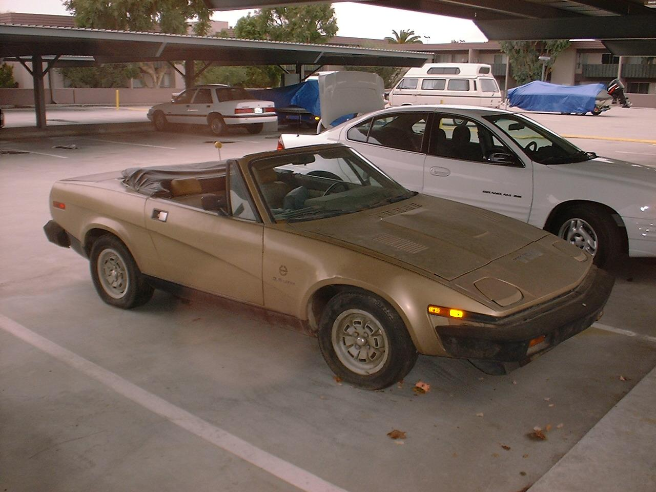 my tr project tr8 right front view