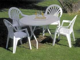 muebles de hierro para jardin el maiten