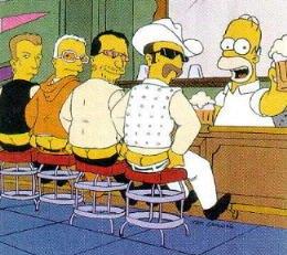 C- Bienvenidos a la taverna de Moe!!!