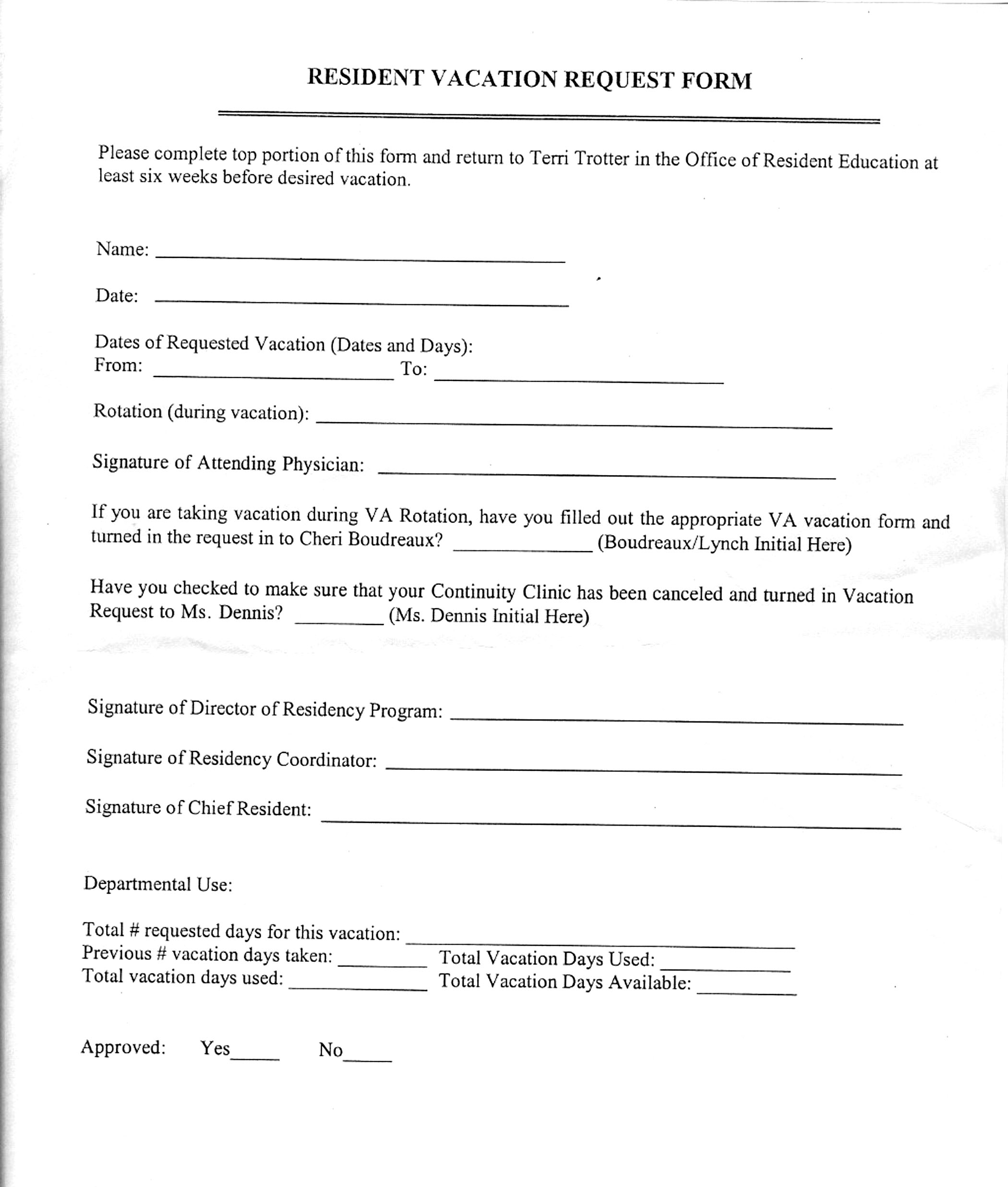 index vacation request form emory grady
