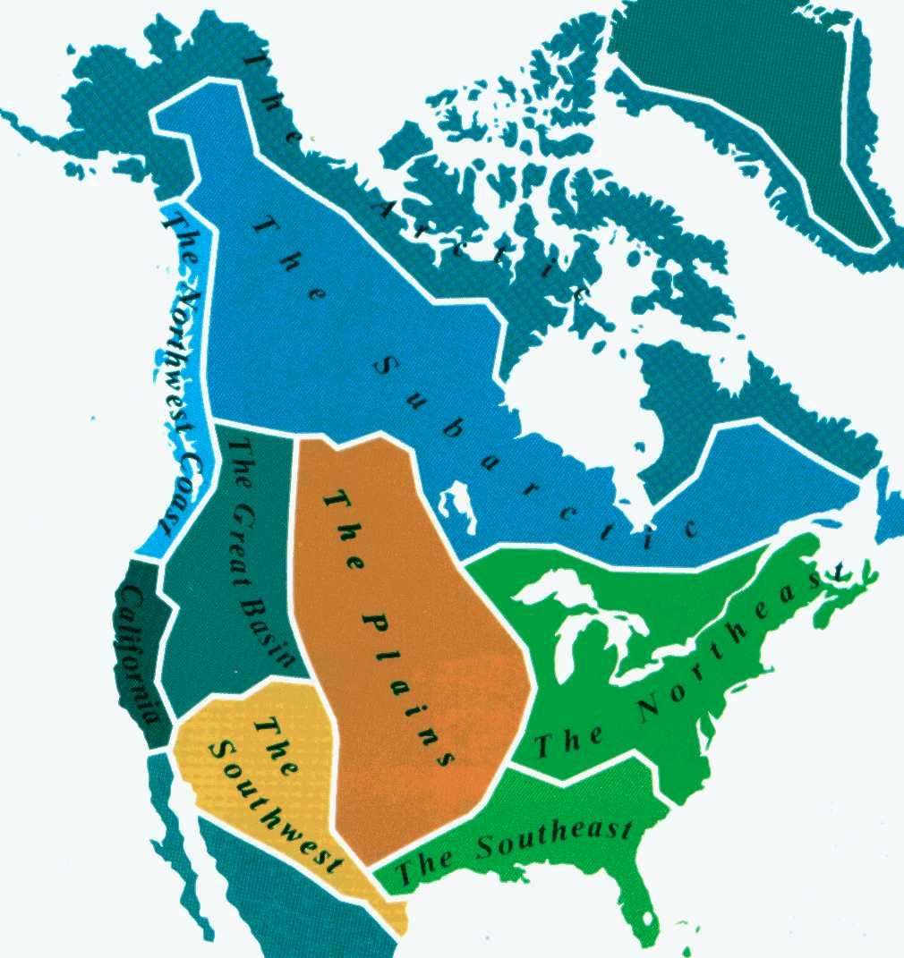 regions of north america