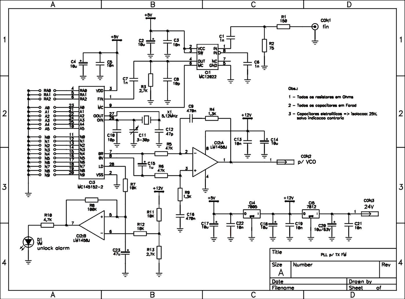 Ic 565 Application Datasheet Lm565 Fsk Demodulator Circuit Design Electronic Components Circle Pll With How Does This Work