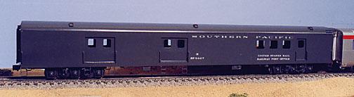 Southern Pacific Passenger Car Models