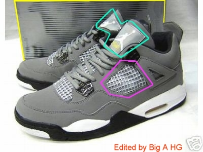 00148f1b6bb465 These Fake IVs are a mess. They were trying to recreate an unreleased Air  Jordan IV. These come out on September 25.