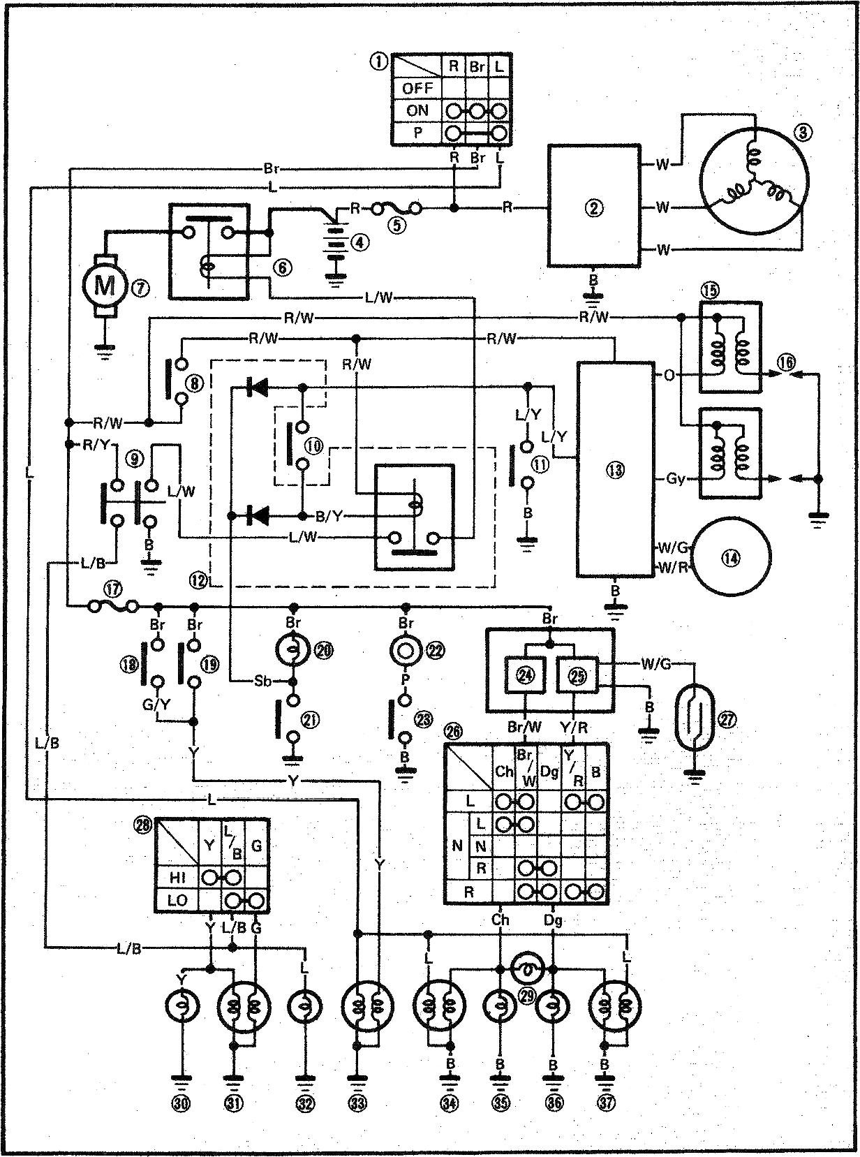 xv250wiring wiring diagrams suzuki dr200 wiring diagram at n-0.co