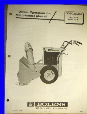 ihc operators manual 46 baler 1962