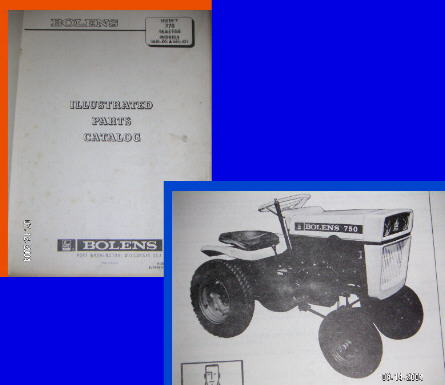 750PB manuals Bolens Riding Lawn Mower Wiring Diagram at webbmarketing.co