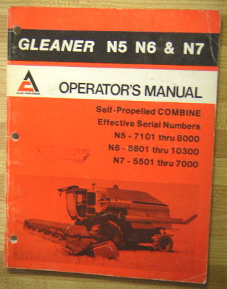 Manuals photo allis chalmers operators manual for gleaner n5 publicscrutiny Images