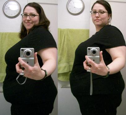 Feedee Weight Gain Before and After