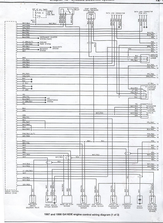 appealing nissan ga16de engine diagram ideas