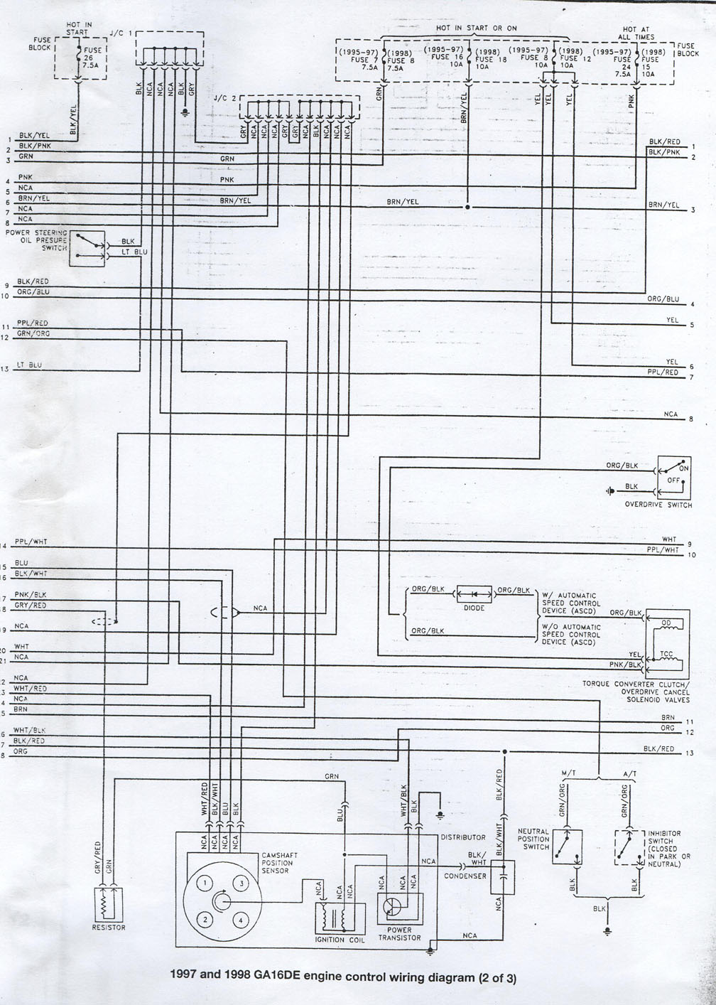 ga16de wiring diagram