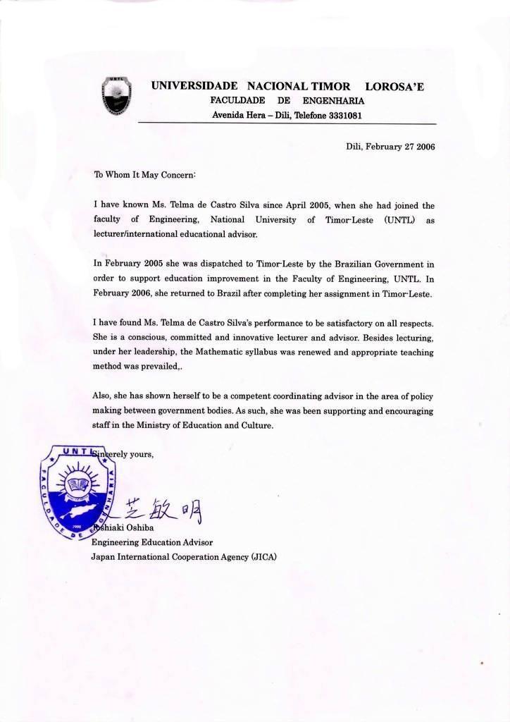o visa recommendation letter artist visa