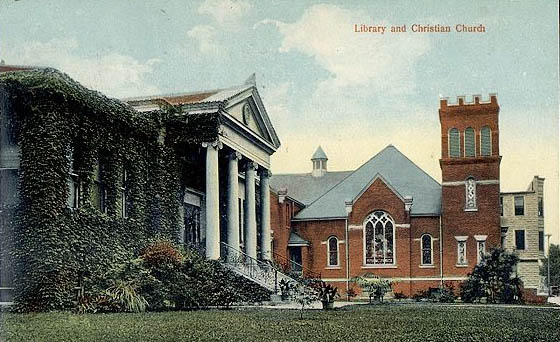 The Churches Of Lincoln Illinois