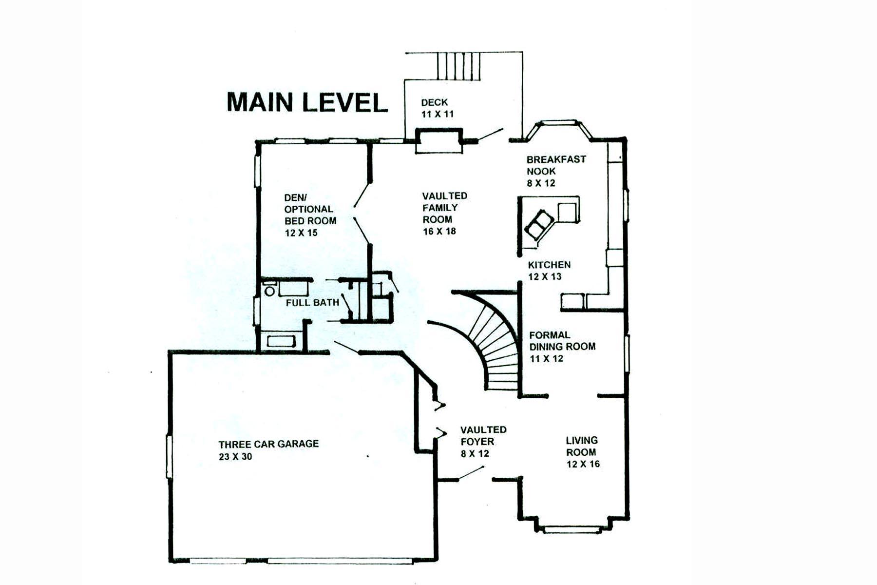 Cs Main Level Plan