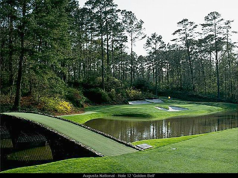 Augusta national european golf site for Augusta national wall mural