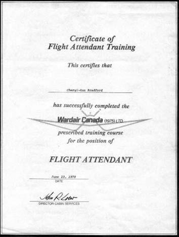 Cold War Recognition Certificate Military Certificates Alliance For ...