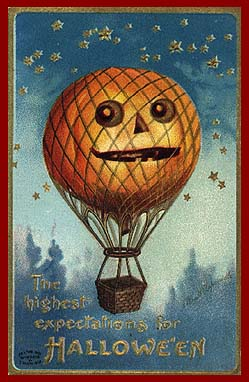 old fashioned halloween postcards collection - Old Fashion Halloween