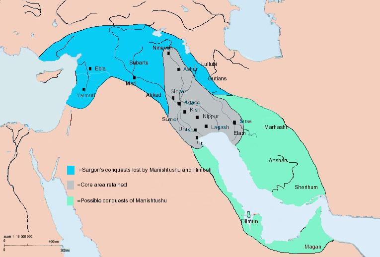 К вопросу об аккадских завоеваниях