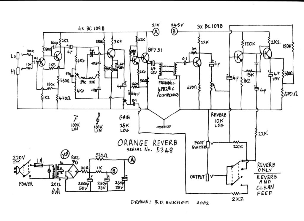 orange amp schematics related keywords