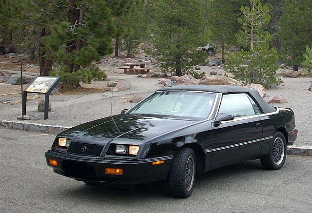 Our 1991 Chrysler LeBaron GTC Convertible