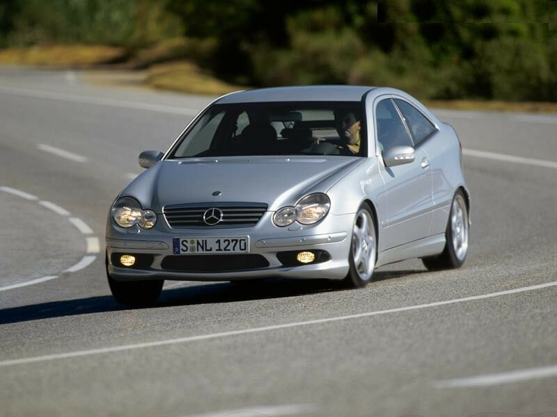 Mercedes Benz C32 Amg Sports Coupe