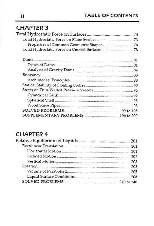 fluid mechanics and hydraulics formulas pdf
