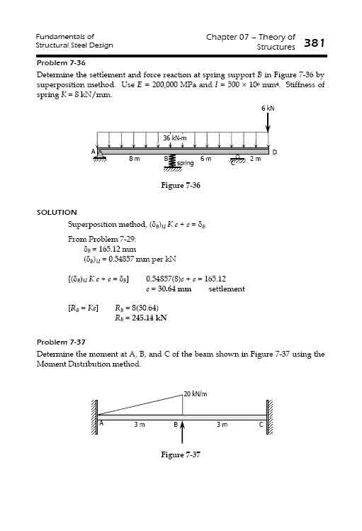 theory of structures solved problems pdf