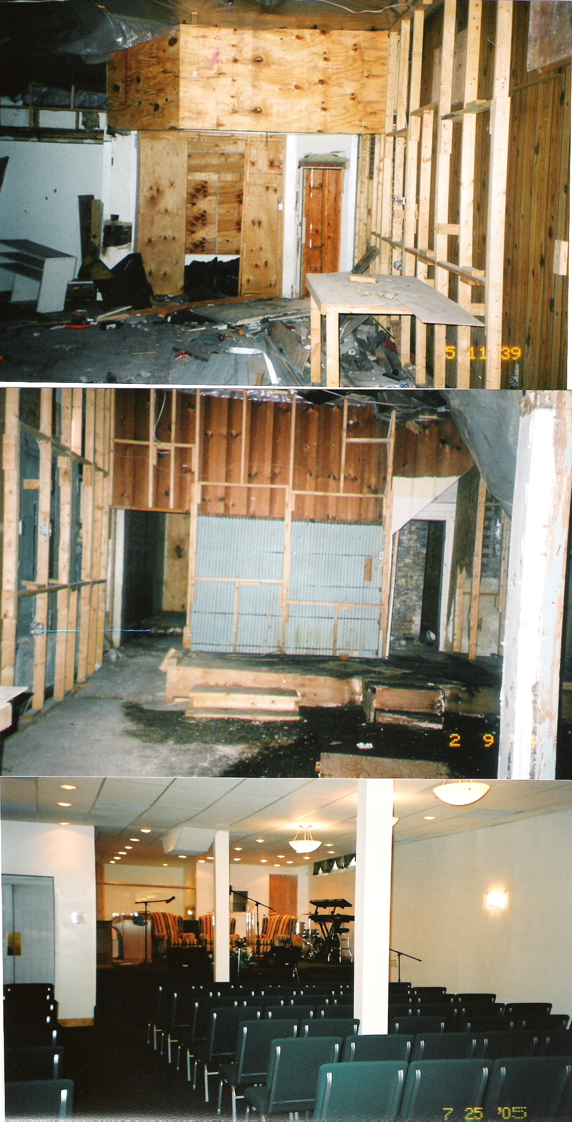 Church for Renovation projects before and after