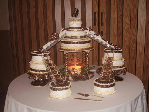 Gallery For Ghetto Wedding Cake